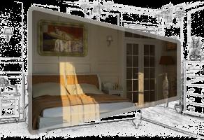 Спальня квартири у місті Львові.